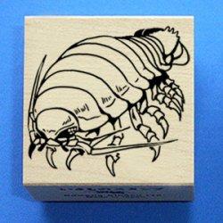 画像1: ダイオウグソクムシ1・斜めポーズ・いきものスタンプ